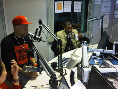 Young Guru On WGCI's The Morning Riot
