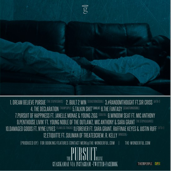 The Pursuit [Deluxe] Track List