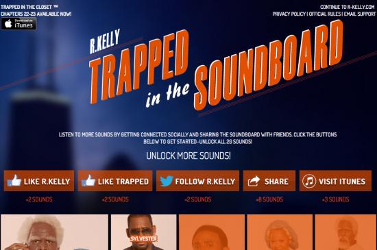 Trapped In Closet Soundboard
