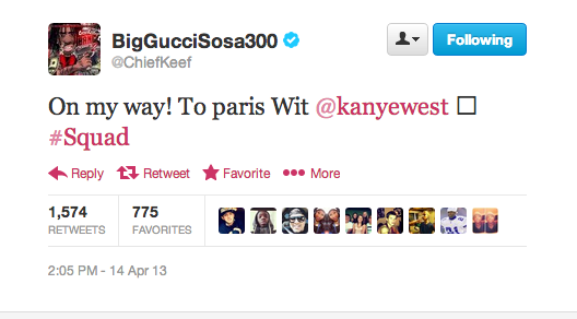 Chief Keef Kanye West