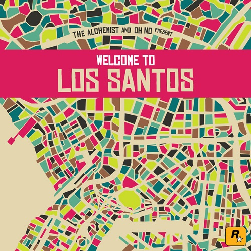 Various-Artists-The-Alchemist-Oh-No-Present-Welcome-To-Los-Santos