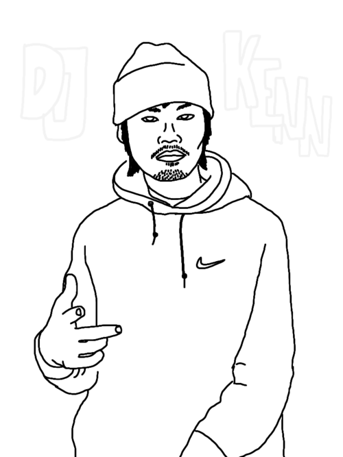 Trend Watch Artists Drawing Pictures of Chicago Rappers