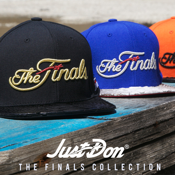 7a2588c39e4 Rsvp Gallery Unveils Just Don The Finals Collection Hats Fake