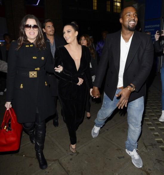 Celebrity Sightings In London - November 9, 2012