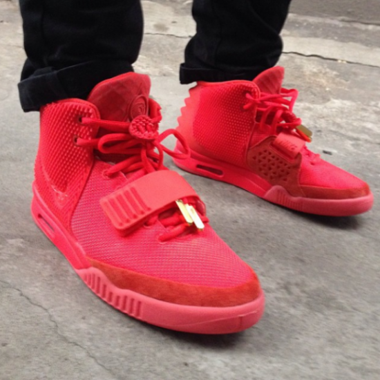 de57cba8 Air Yeezy 'Red October' No Longer Dropping On 12/27 – Fake Shore Drive®