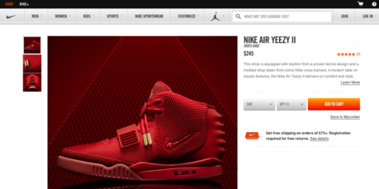 9b79de3346461 Nike Drops Air Yeezy II  Red October  Without Warning – Fake Shore ...
