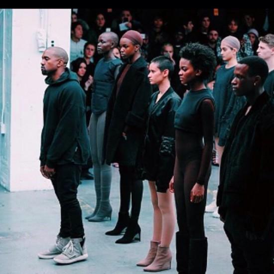 prezzo più economico prezzo più basso con ottenere a buon mercato Pics: Kanye West x adidas 'Yeezy Season 1' Fashion Show In ...