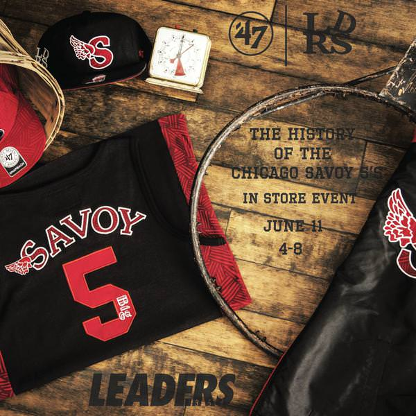 7dcbd27773983 Leaders 1354 has teamed up with 47Brand and the Black Fives Foundation for  a special collaborative collection inspired by the Savoy Big Five