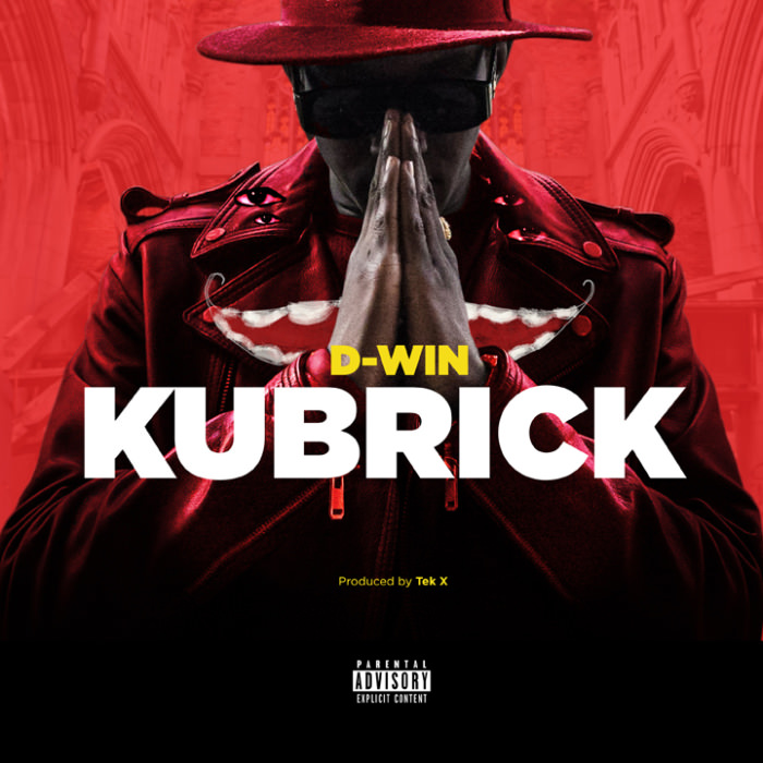 D-Win Kubrick EP Front Cover
