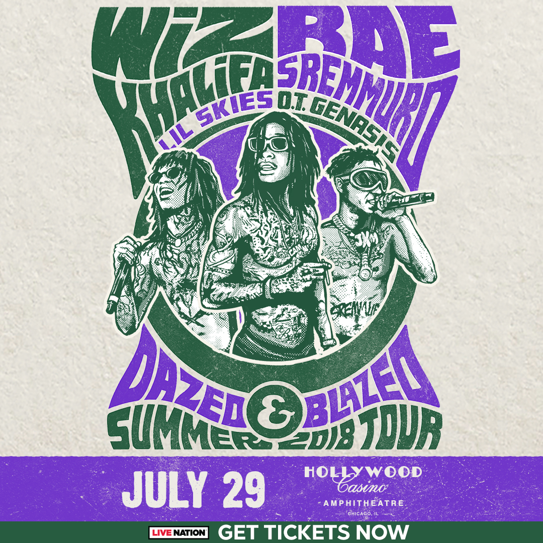 Wiz Khalifa   Rae Sremmurd s Dazed   Blazed Tour Hits Chicago THIS ... d4d1c1123fcf